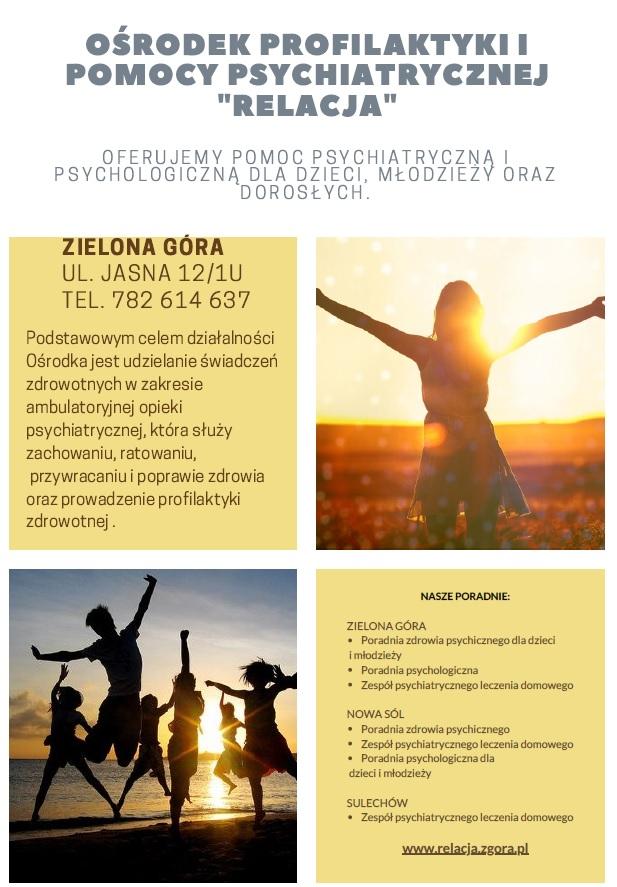 Ilustracja do informacji: Poradnia Zdrowia Psychicznego dla Dzieci...