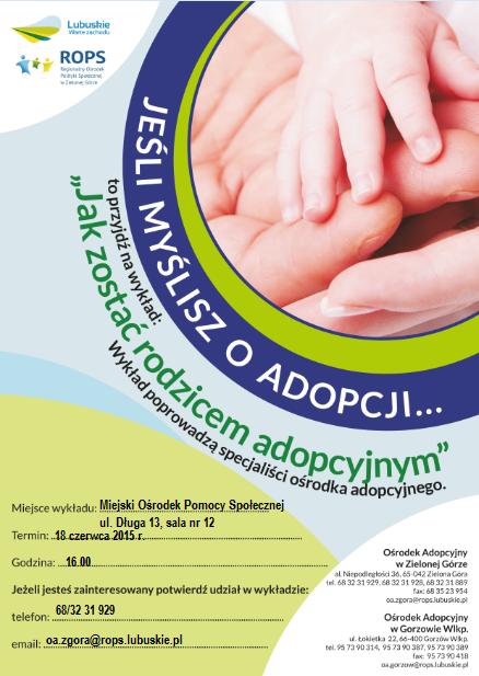 Ilustracja do informacji: Jak zostać rodzicem adopcyjnym